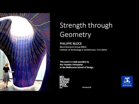 Philippe Block: Strength through Geometry