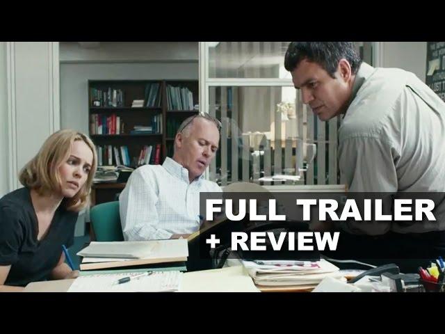 Spotlight 2015 Official Trailer + Trailer Review - Mark Ruffalo, Rachel McAdams : Beyond The Trailer