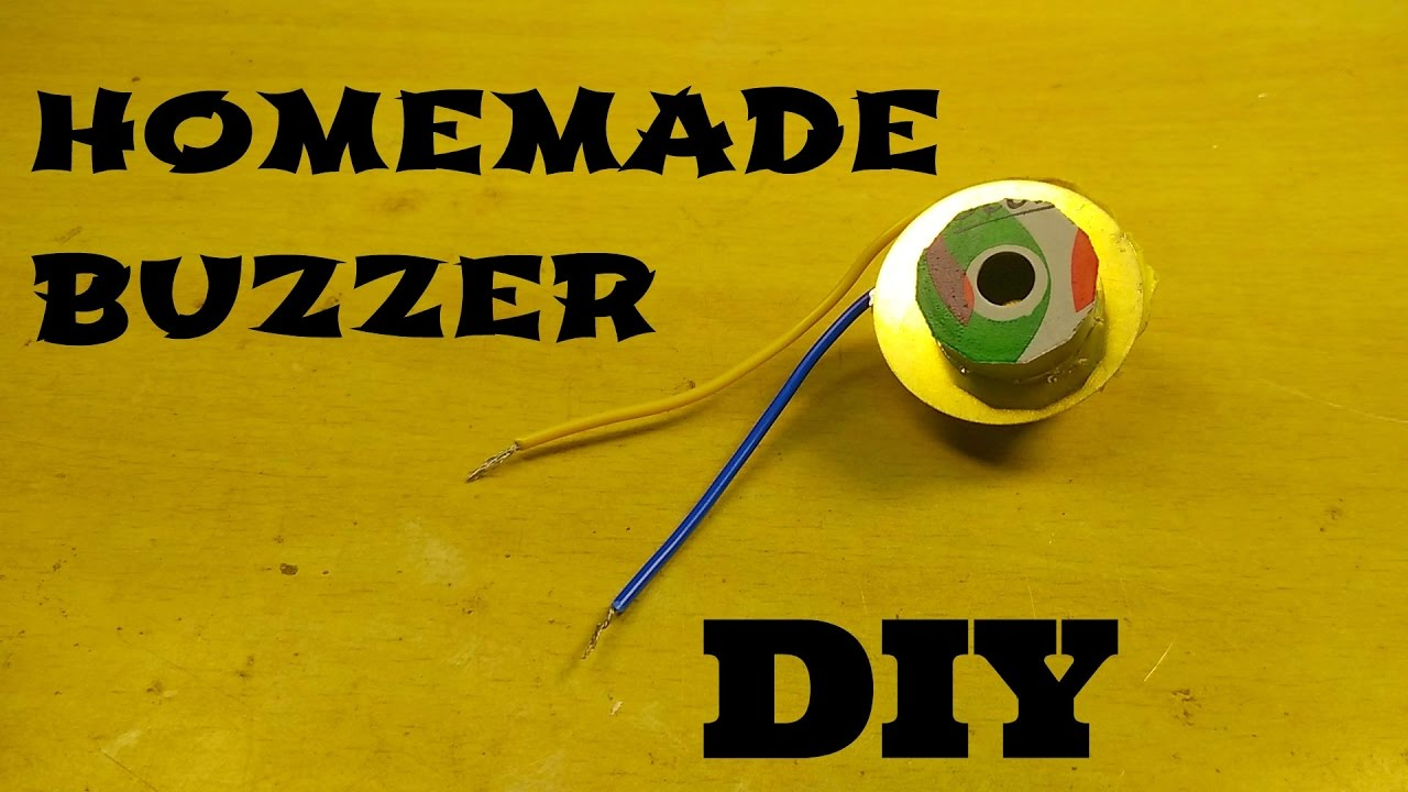 How To Make Simple Piezo Buzzer At Home Youtube Wiring Diagram Quiz Together With Game Show Circuit