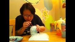bubbles technique on pottery