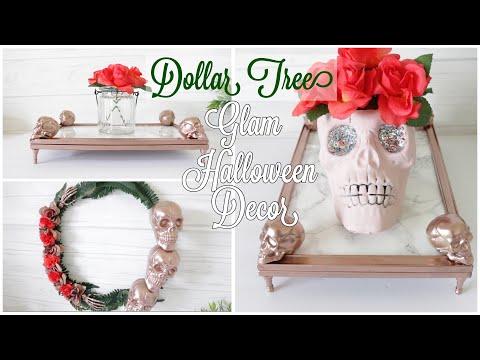 Dollar Tree DIY Glam Halloween Decor