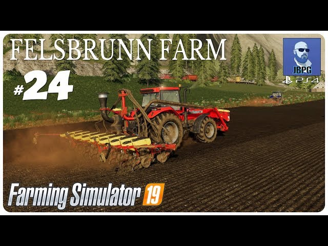 FS19 PS4: Felsbrunn Farm - Episode 24: Merging Fields