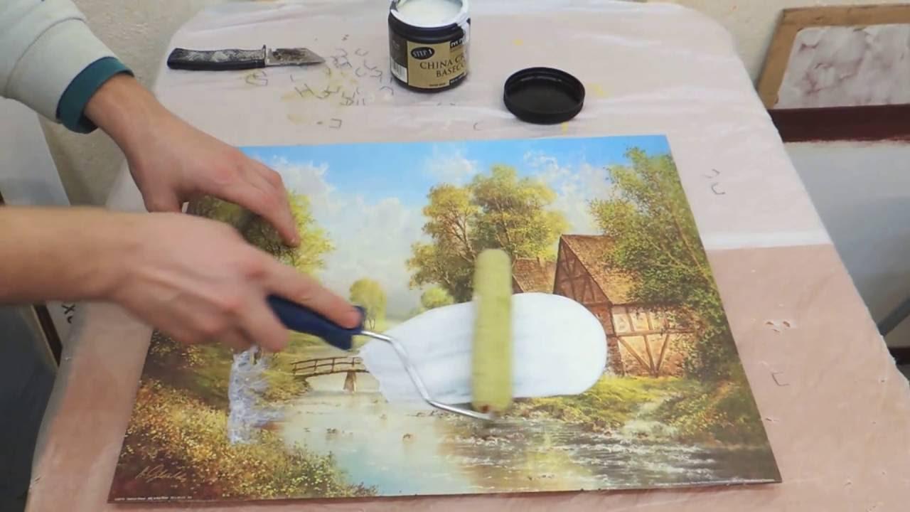 Реставрация картин своими руками фото 638