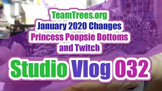 Studio Vlog 032 | Big Topics, Twitch, and Ms Poopsie Bottoms
