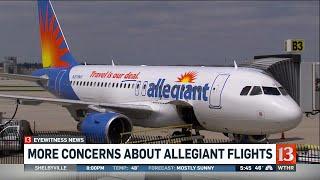 Concerns about Allegiant flights
