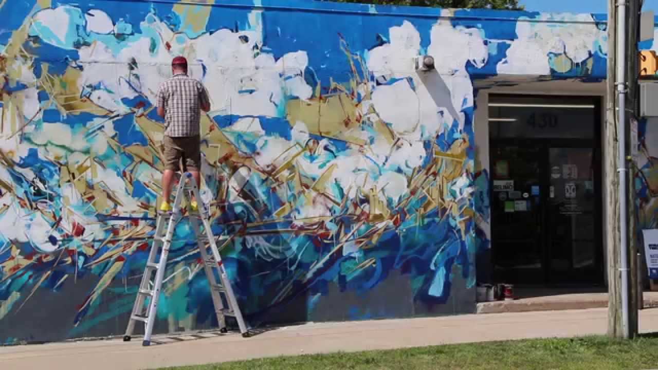 Graffiti wall rochester ny - Nate Hodge For Wall Therapy 2015 Cities And The Sky