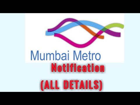 Mumbai metro rail vacancy (MMRC)-2018