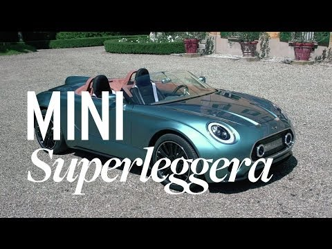 Mini Superleggera Vision Concept - Up Close
