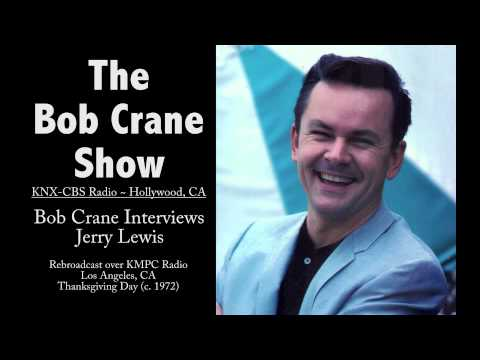The Bob Crane Show / KNX-CBS Radio / KMPC/ Bob Crane Interviews Jerry Lewis (c. 1972)
