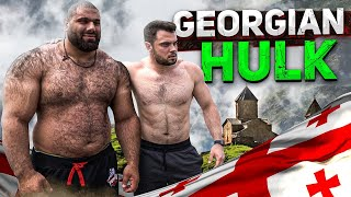 180kg Georgian HULK - Levan Saginashvili with his unique arm strength / armwrestling tips