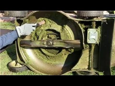 Maintenance for Lawn Care Tools : How to Clean Your Gas Lawn Mower