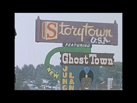 1965 Storyland Frontier Town AKA Six Flags Great Escape, Lake George