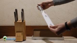 Розпакування набір ножів BergHOFF Hollow з 6 предметів Rozetka.com.ua