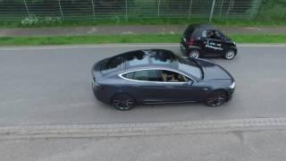 Tesla vs. Smart - Battle of eCars