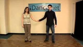 The Tickle Dip - Lindy Hop Dance Lesson, Ben Morris, Melina Ramirez #250