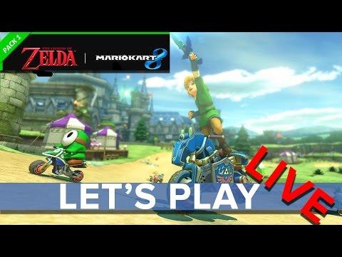 Mario Kart 8: Legend of Zelda DLC - Eurogamer Let's Play LIVE