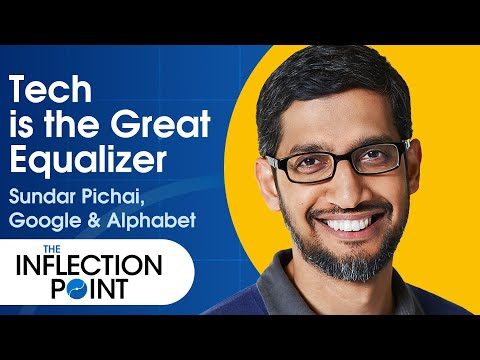 How Google's CEO Hopes Tech Can Solve World Crises   Ep. 10   The Inflection Point
