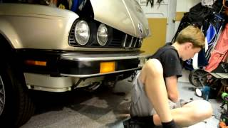 BMW E30 Front Valance 325is/ 325es Install How To Step by Step