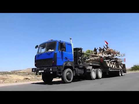 Daraa : Syrian Army Troops Deployed at Nasib Border Crossing