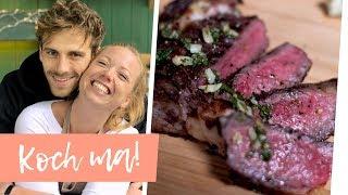 Fleisch von der Weide: Gallowaysteak mit Fynn | Koch ma!