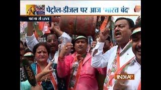 Bharat Bandh takes a violent turn in Mumbai, Patna