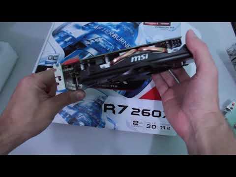 MSI R7 260X 2GD5 OC videos - FFkdgFaXDeI (Meet Gadget)