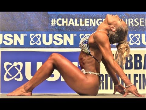 NABBA USN Britain Finals 2017 - Miss Toned Figure