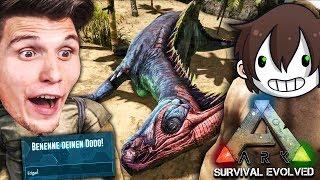 Wir ZÄHMEN unsere ersten DINOSAURIER ☆ ARK: Survival Evolved #03