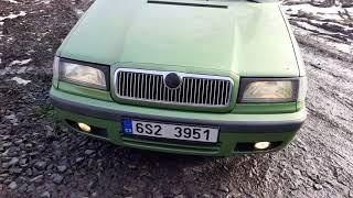 Škoda Felicia Mystery před renovací