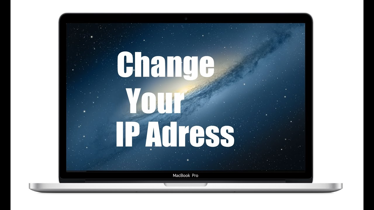 Your Ip How To Change Your Ip Address On Mac Youtube