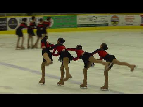 BC/YK SYNCHRO Competitions 2017/2018 - JUVENILE SKATE 2 of 2