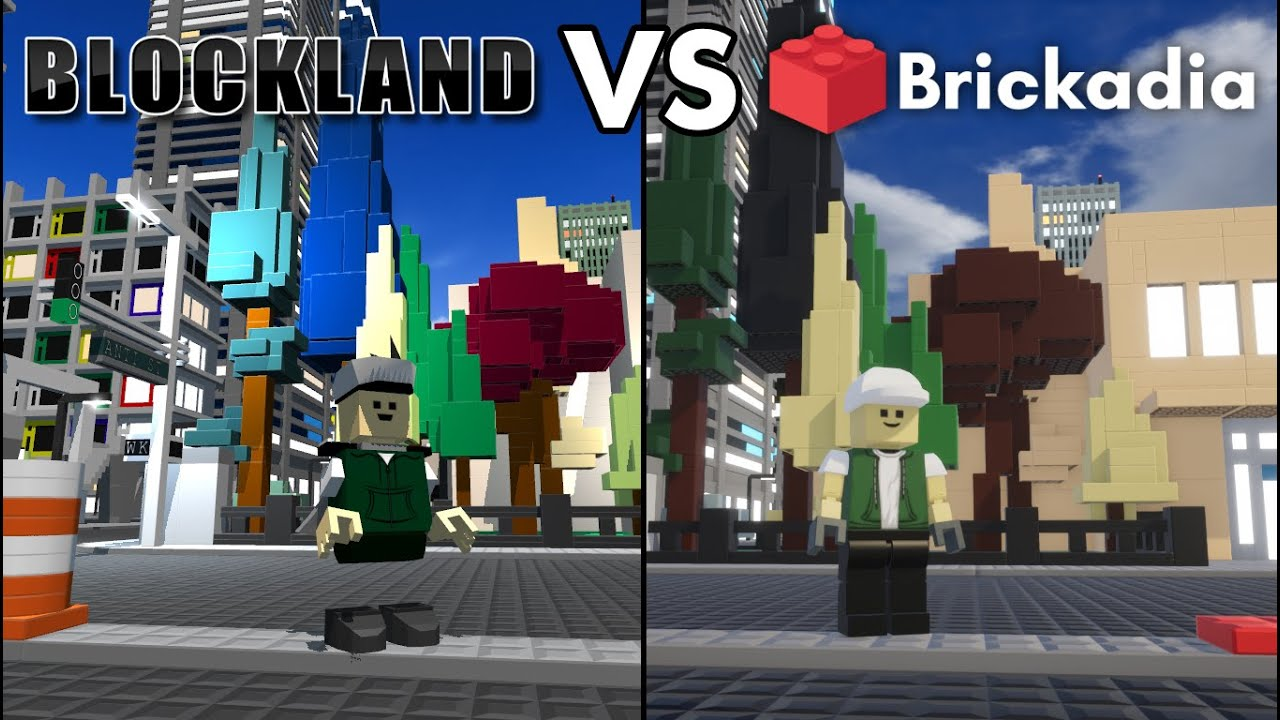 Blockland Free Robux Get Robux For Watching Videos Blockland Vs Brickadia Pre Alpha 0 3 5 Brick Perfomance And Graphics Comparison Youtube