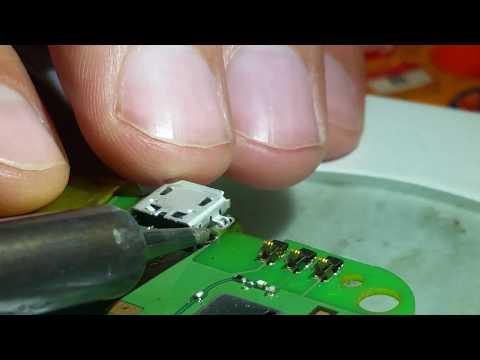 Замена USB на телефоне ALCATEL One Touch Pixi 4027D