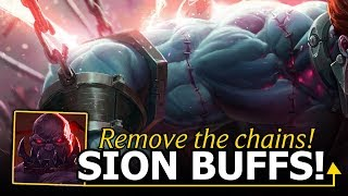 WOW! Another Sion Buff! Unleash The BEAST | League of Tilt