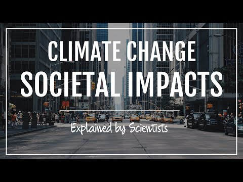 Societal Impacts of Climate Change
