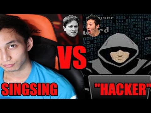 "Dota 2 - SingSing vs ""Hackers"" 