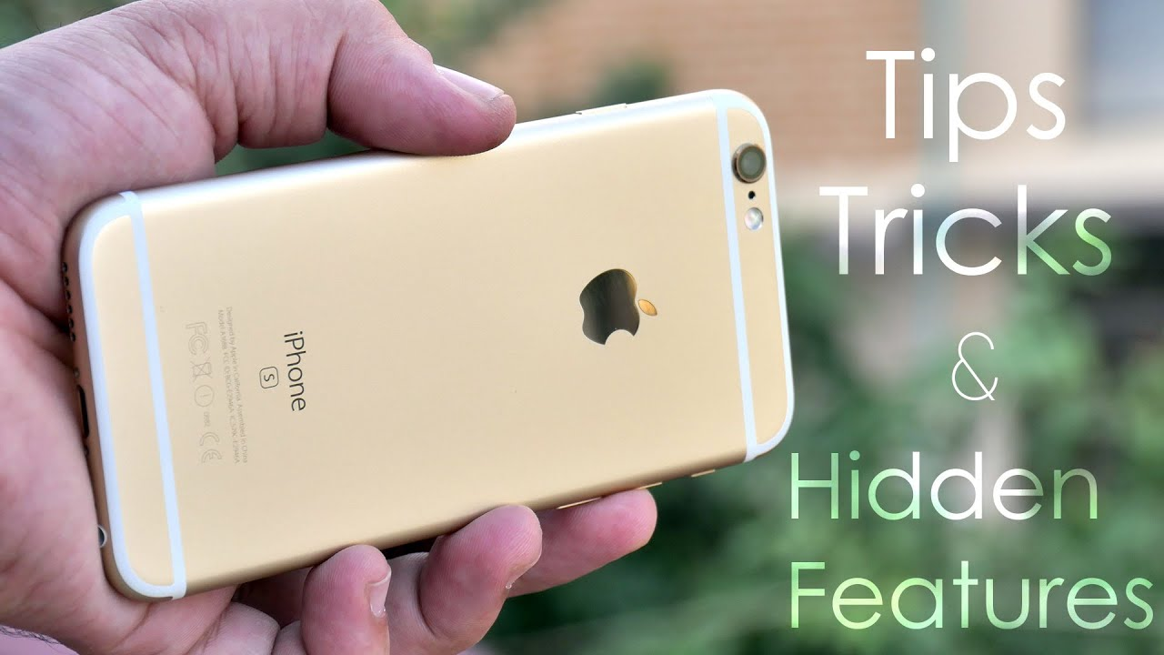 Iphone 6 Tips Tricks And Hidden Features
