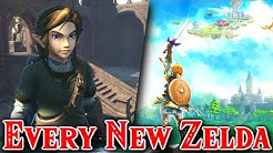 Every New Zelda Confirmed, Rumored, Leaked 2019 2020 & Beyond
