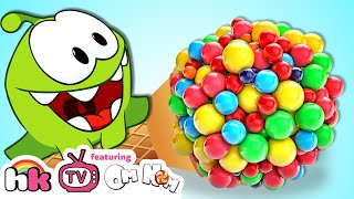 Best of Om Nom Stories S4 Ep1: OM NOM vs GIANT CANDY | Cartoons for Children by HooplaKidz TV