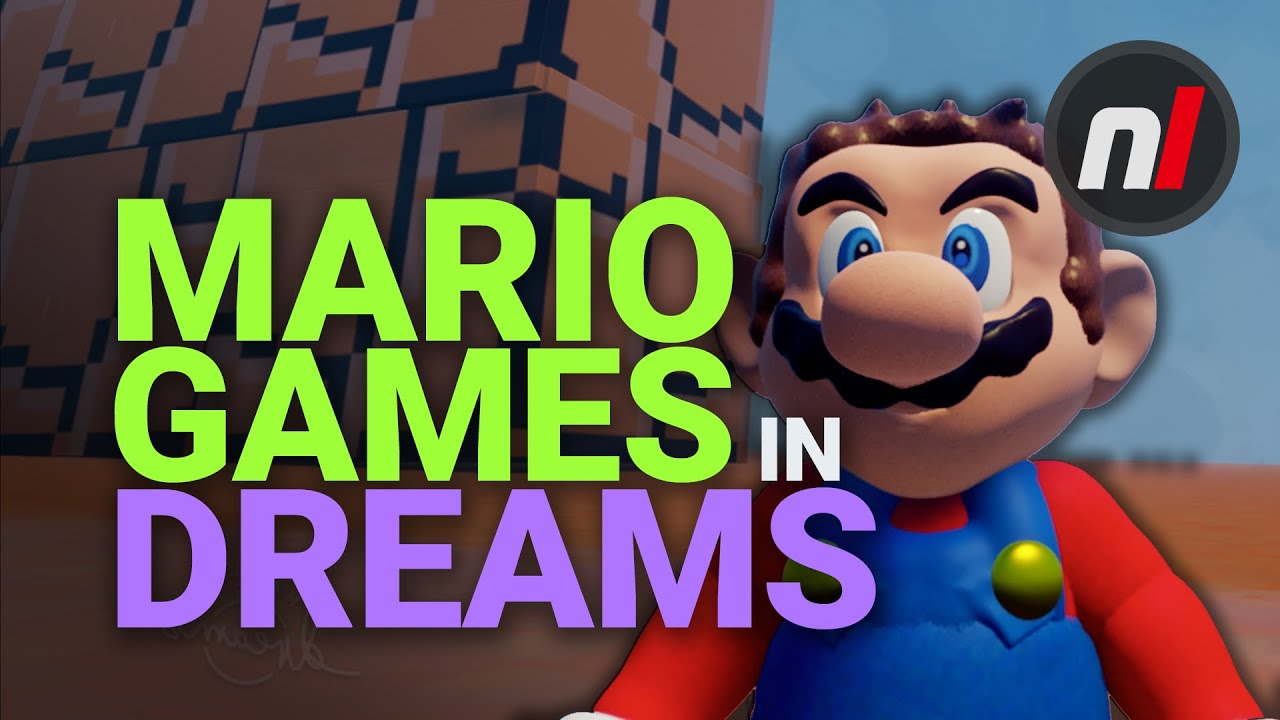 Mario Games in Dreams (PS4) thumbnail