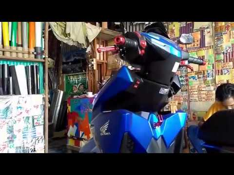 review wrapping honda vario 150