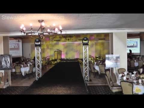 Dallas DJ Gig Log, Fashion Show, Wireless Event Lighting, Brookhaven Country Club