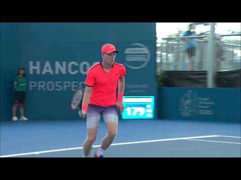 Kyle Edmund v Ernesto Escobedo highlights (1R) | Brisbane International 2017