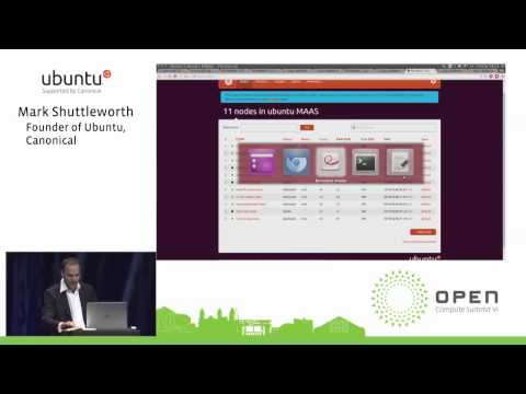 OCP 2015 Summit - Ubuntu - Mark Shuttleworth