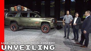 Luke Bryan Chevy Suburban Concept Unveiling