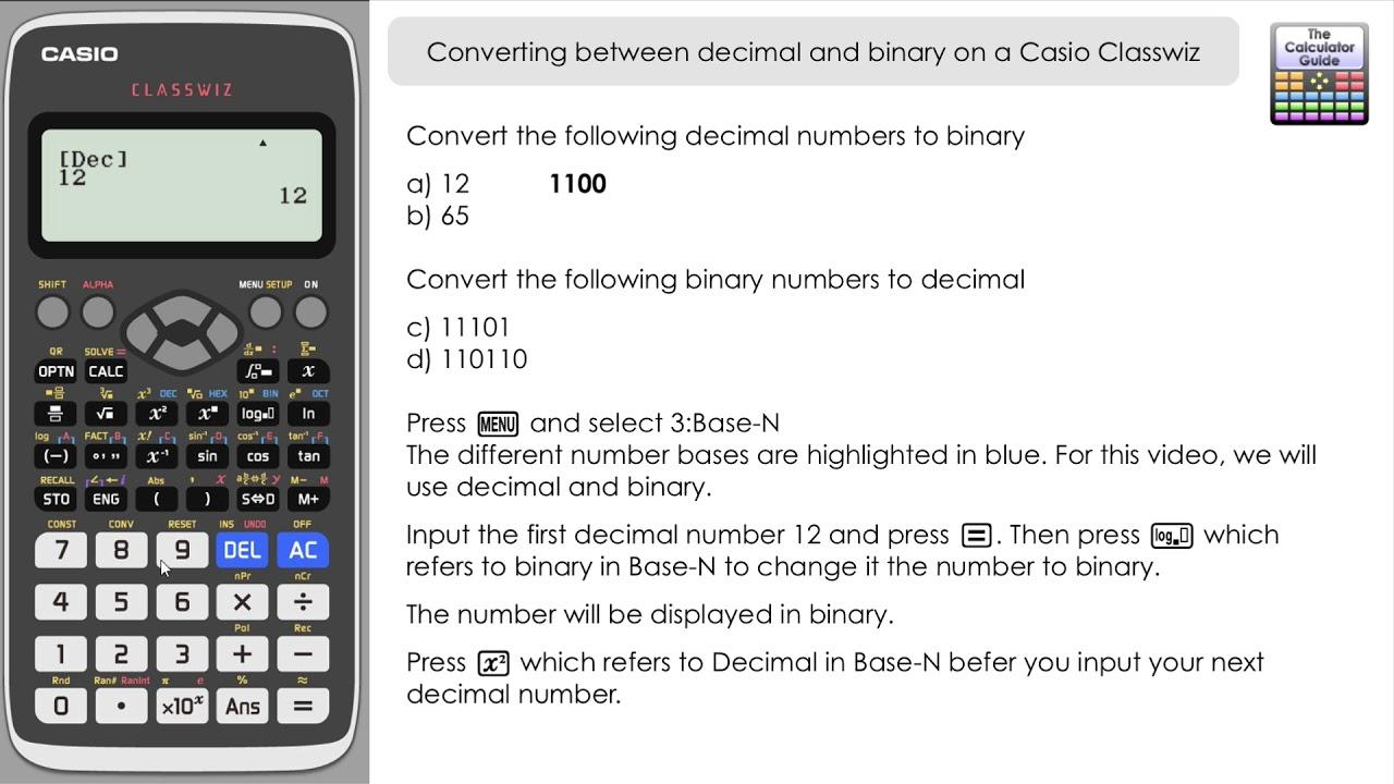 binar calculator opțiune