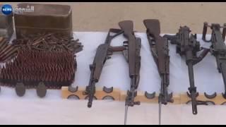 كشف مخبأ يحوي كمية من الأسلحة والذخيرة ببرج باجي مختار