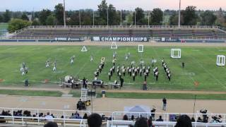 2016 nphs marching band at wba championships merced college