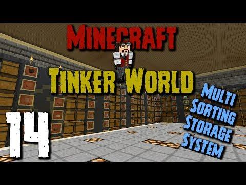 Tinker World: Episode 14 - Multi Sorting Storage System!