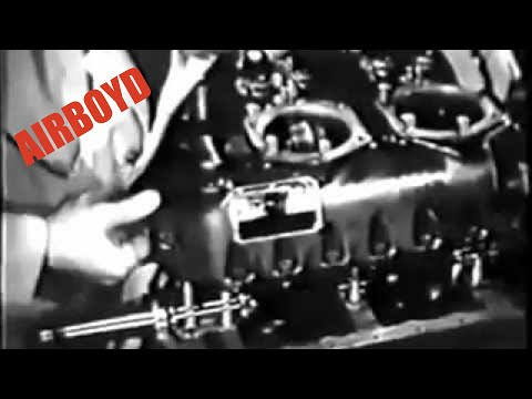 Reassembling The Engine - Aircraft Power Plant Maintenance (1945)